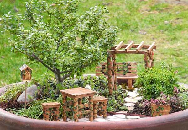 tutorial de mini jardim